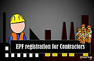Importance of EPF registration for contractors