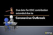 Government Gives More Time for ESI contribution amid Coronavirus Pandemic