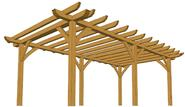 Make Your House Mesmerizing With A Yard Pergola