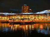 The Boat Quay and Clarke Quay
