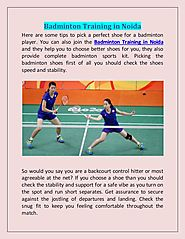 Join Our Badminton Academy For Badminton Training in Noida