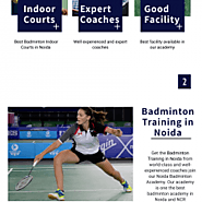 Best Indoor Courts for Badminton Training in Noida