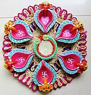 diwali puja diya decorations for home ideas & pictures | HappyShappy - India's Best Ideas, Products & Horoscopes