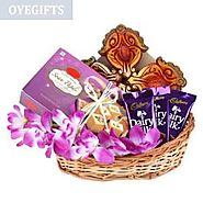 Send Chocolate, Sweets & Diya Online Same Day Delivery - OyeGifts.com