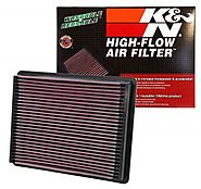 K&N Engine Air Filter – Washable and Reusable