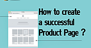 How to create a successful Product Page ?