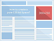 How to Create a Pure CSS Advertisement Space or Box?