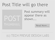 How to Use Read More Option with Thumbnail on Blogger/Blogspot?