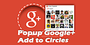 Get Google+ Add to Circles Popup Widget Advanced Version