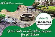Complete your Outdoor Space with Propane fire pit Edison