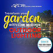 Low Voltage Landscape Lighting for Ponds in Edison NJ