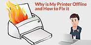 Why is My Printer Offline and How to Fix it - CraftStylish
