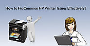 How to Fix Common HP Printer Issues Effectively?