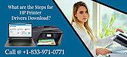 What are the steps for hp printer drivers download?