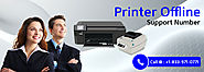 Why is My Printer Offline? +1-833-971-0771