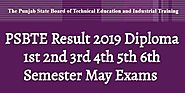 PSBTE Result 2019 Diploma Pharmacy May Exams