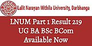 LNUM Part I Result 2019 UG BA BSc BCom Available Now