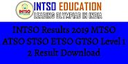 INTSO Results 2019 MTSO ATSO STSO ETSO GTSO Level 1 2 Result Download