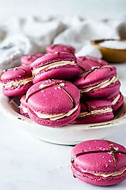 Balsamic Caramel and Strawberry Macarons Recipe