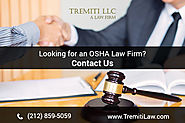 OSHA Law Firm In New York