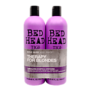 Order Now Tigi Bed Head Dumb Blonde Shampoo & Conditioner 750ml in UK