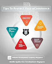5 Tips To Protect Your ECommerce Website Infographic Template