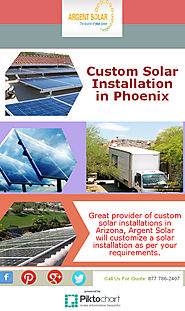 Custom Solar Installation in Phoenix