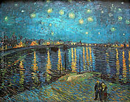 Starry Night Over The Rhone Painting by Vincent Van Gogh