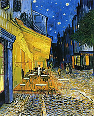 Cafe Terrace on the Place du Forum Painting by Vincent Van Gogh
