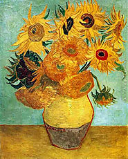 Vase With Twelve Sunflowers II Painting by Vincent Van Gogh