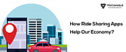 How Ride Sharing Apps Help Our Economy?