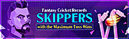 Fantasy Cricket Records - Skippers with the Maximum Toss Wins | 11wickets.com