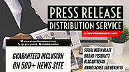 Press Release Distribution Service USA – Free PR Distribution