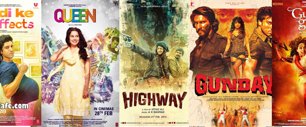 Headline for Top Bollywood films of 2014 (so far!)