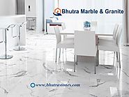Indian White Marble Manufacturer in India Bhutra Stones