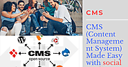 CMS (Content Management System) Made Easy with social media agency