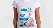 Wear These Pregnancy Inspired T-Shirts To Your Baby Scan Clinic