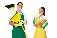 Man and Lady Cleaners