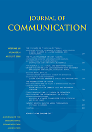 Psychological, Relational, and Emotional Effects of Self-Disclosure After Conversations With a Chatbot | Journal of C...