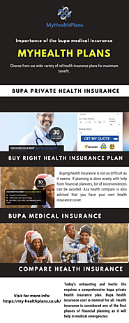 Importance of the bupa medical insurance