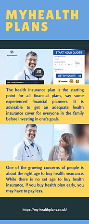 Buy Axa health compare plan early in life