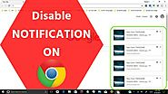 How to Turn Off Google Chrome Notifications? - ConMcAfee