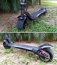 "8"" 1000w Electric Scooter Widewheel - Wheelsity"