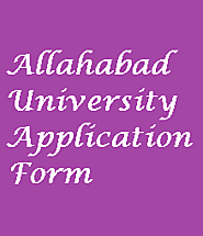 Allahabad University Application Form 2020 - Apply Here