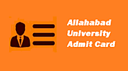 Allahabad University Admit Card 2020: Download Hall Ticket Here