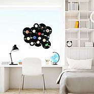 Vintage vinyl records Wall Sticker Peel and stick Wall Decal for kids Room Decor - RoyalWallSkins