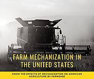 Farm Mechanization in the United States