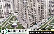 Website at http://www.gaurcity.net.in/possession.html