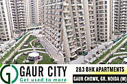 Residential Projects in Gaur City Noida Extension-Ready to Move Flats