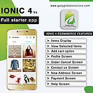 Ionic 4 Ecommerce Template